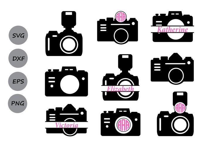 Camera svg, camera monogram Svg, photography svg, photograph example image 1