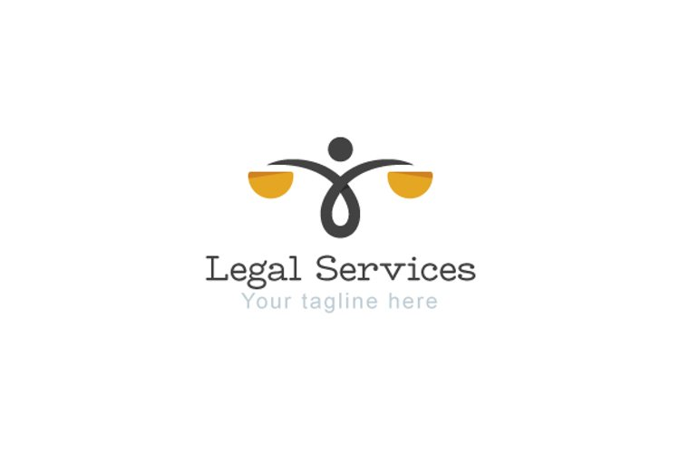 Legal Services - Law & Attorney Logo Template example image 1