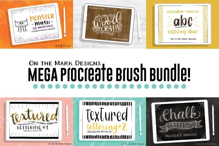 Mega Procreate Brush Bundle!