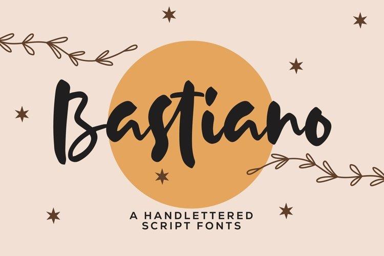 Web Font Bastiano - Handlettered Script Font example image 1