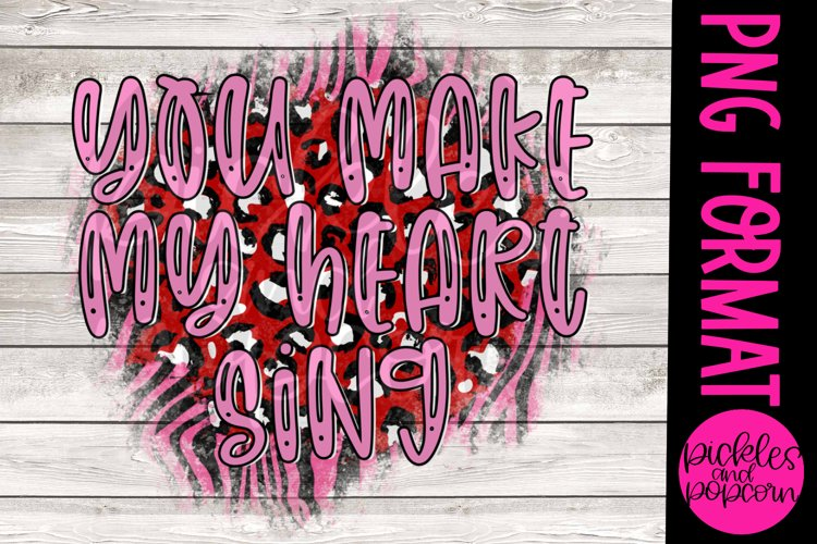 You Make My Heart Sing example image 1