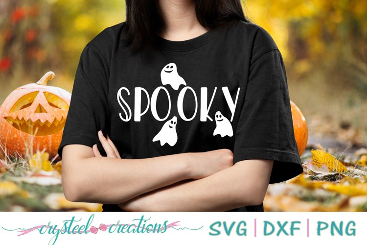 Spooky SVG, DXF, PNG, EPS example image 1