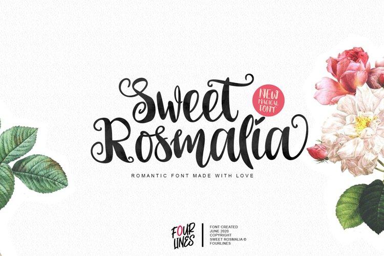 Sweet Rosmalia example image 1