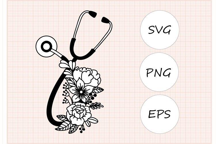 Stethoscope SVG, Nursery svg vector