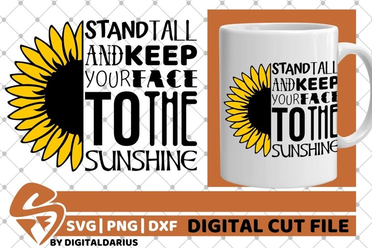 Sunflower Mandala svg, Yellow Flower svg, Sunshine, Sun svg example image 1
