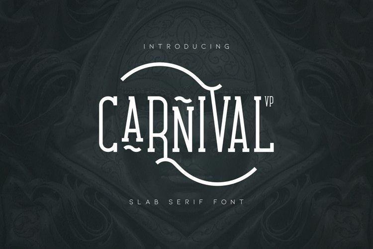 Carnival VP Slab - Latin & Cyrillic example image 1