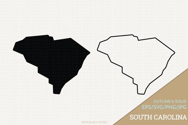 South Carolina Vector / Clip Art