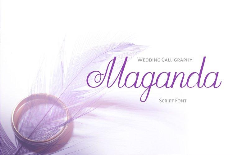 Maganda script