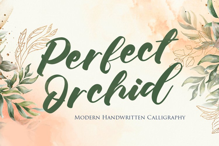 Perfect Orchid example image 1