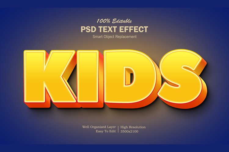 Kids2 Text Effect example image 1
