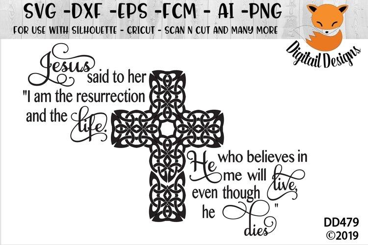 Easter Resurrection Faith SVG Cut File example image 1