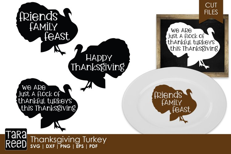 Thanksgiving Turkey- Thanksgiving SVG and Cut Files
