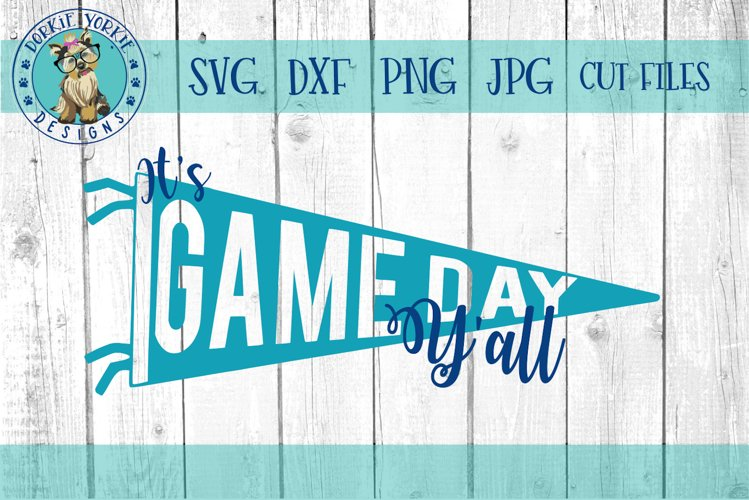 It S Game Day Y All Football Sports Svg Cut File 123009 Svgs Design Bundles