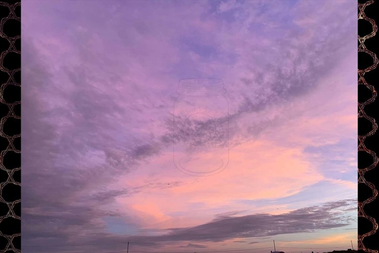 Pink Sky Clouds example image 1