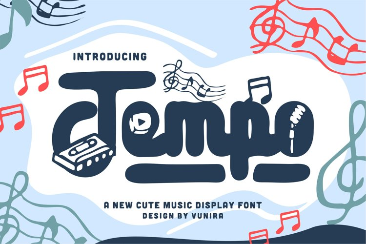 Tempo | Display Font example image 1