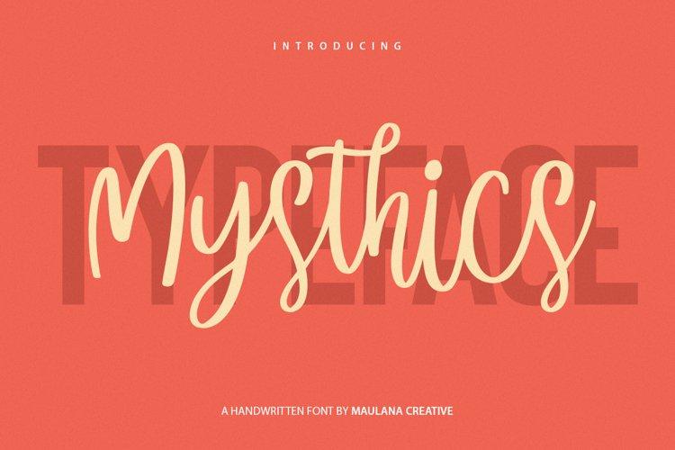 Mysthics - Font Duo Script Sans Typeface example image 1