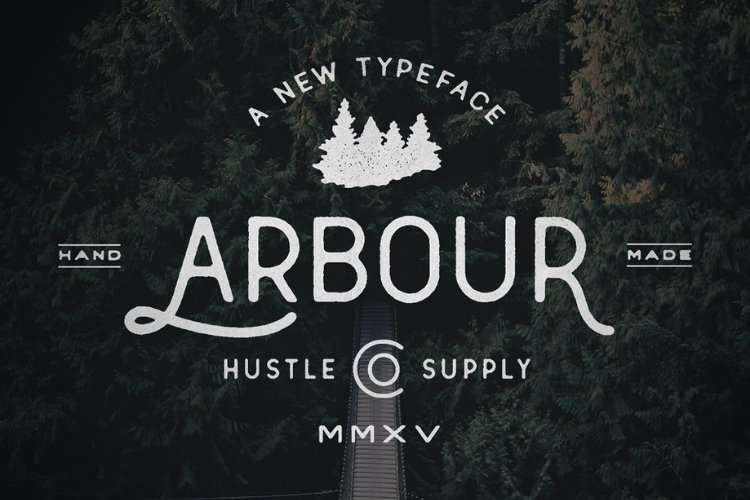 Arbour - Hand Drawn Font example image 1