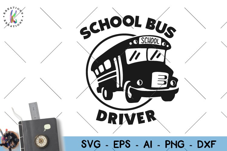School bus svg back to school svg School Bus Driver svg