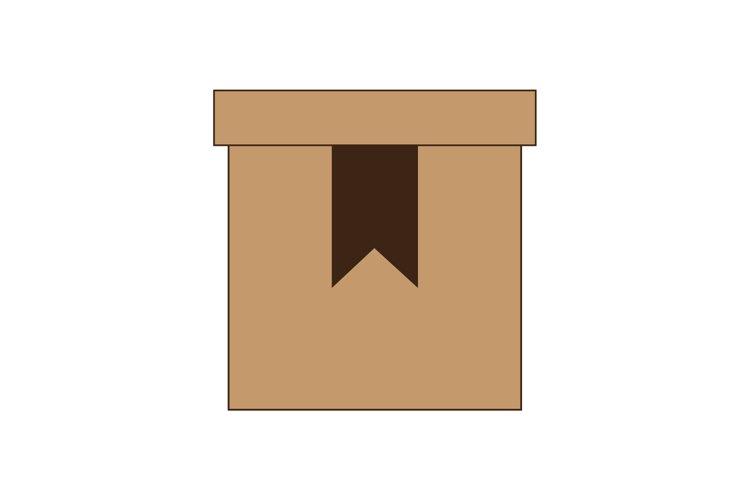 flat design stylebox icon. Vector Line Icon. example image 1