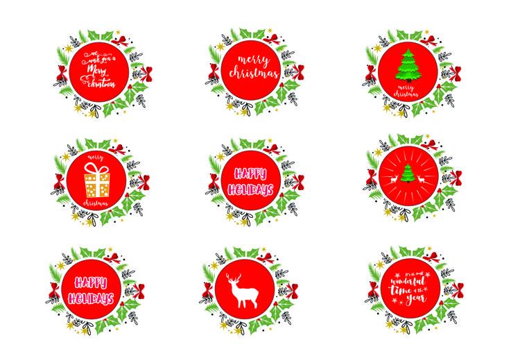 Merry Christmas-SVG Cut File-Coffee Mug Design-Greeting Card