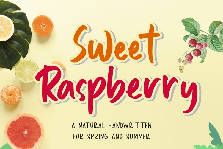Sweet Raspberry example image 1