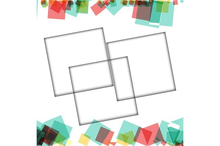 Download Colorful Photo Frames Vector Illustrations Square Borders 753044 Backgrounds Design Bundles