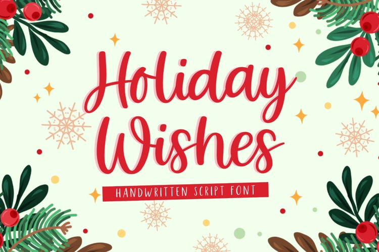 Holiday Wishes example image 1