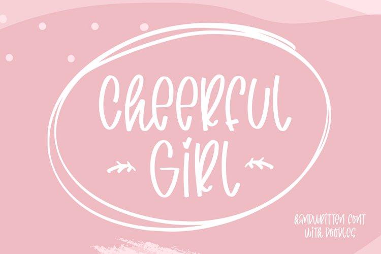 cheerful girl example image 1