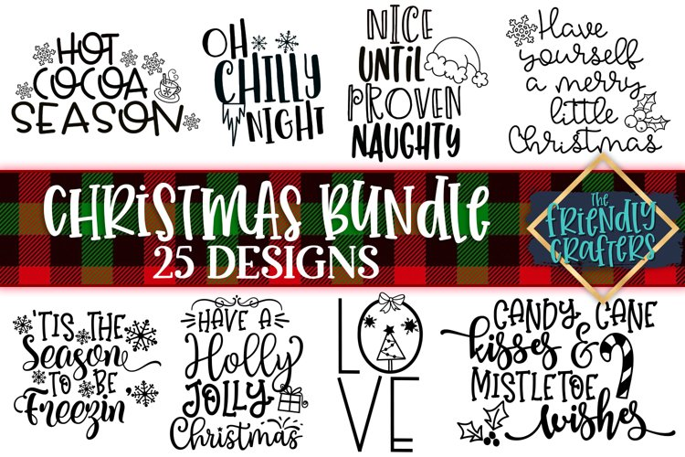 Christmas Bundle - 25 Designs
