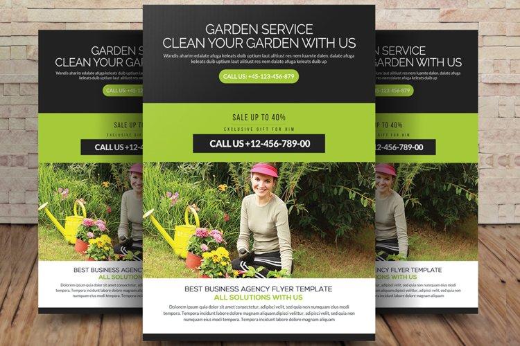Garden Services Flyer Template example image 1