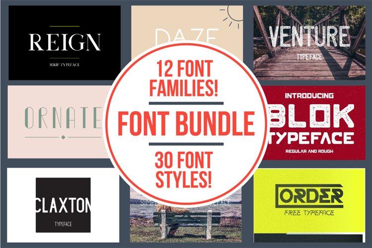 Typeface Bundle example image 1