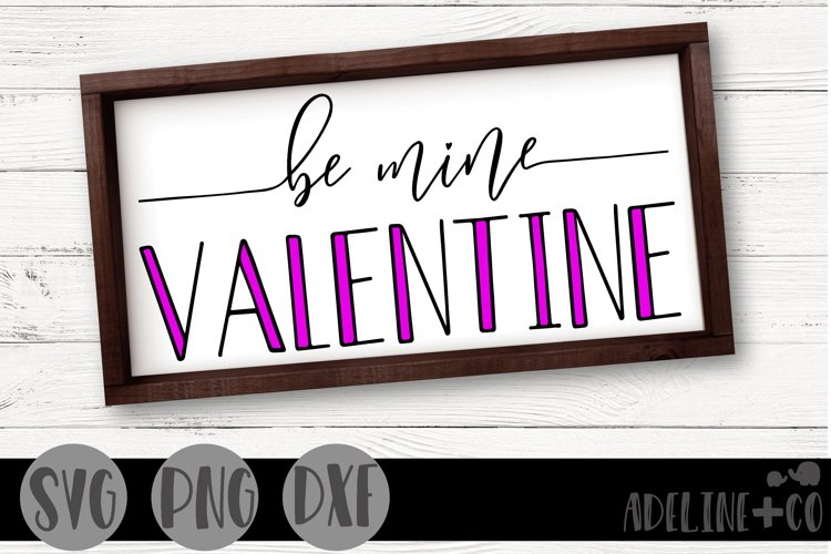 Be mine valentine example image 1