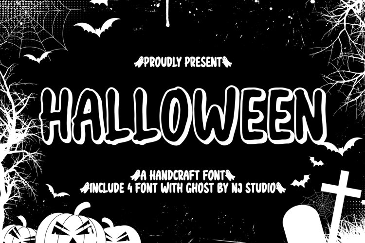 halloween include 4 file font example image 1