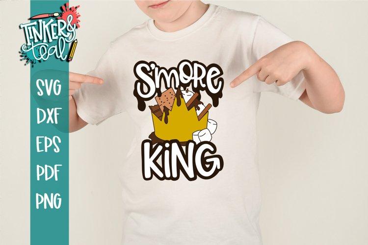 Smore King Camping SVG example image 1