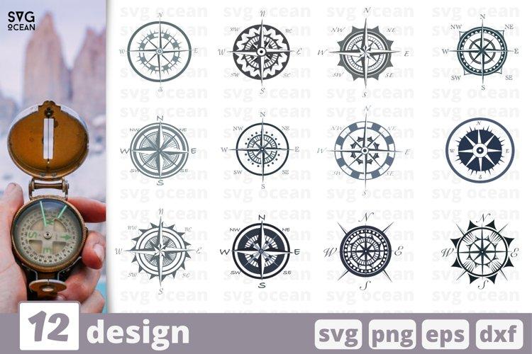 12 COMPASS SVG BUNDLE   Compass template svg   Nautical
