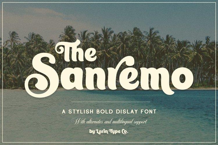 Sanremo example image 1