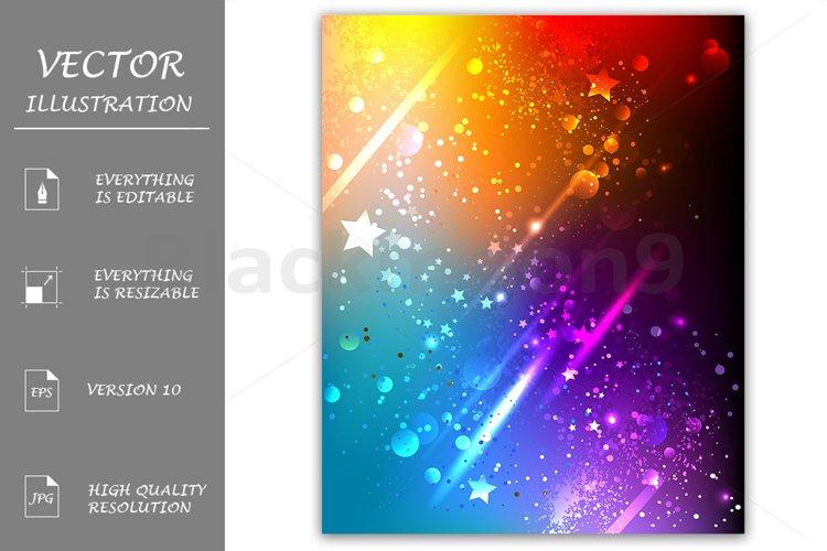 Bright Rainbow Background example image 1