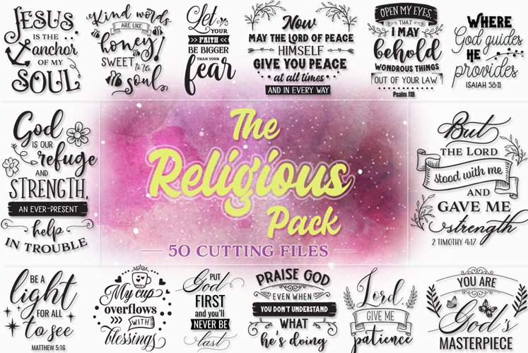 The Religious Cut Files Pack Limited PROMOTION! example image 1
