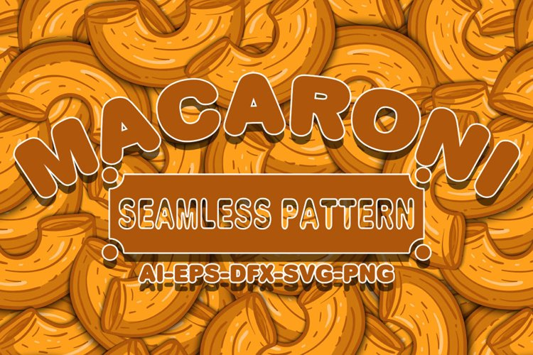 Seamless Patterns Macaroni