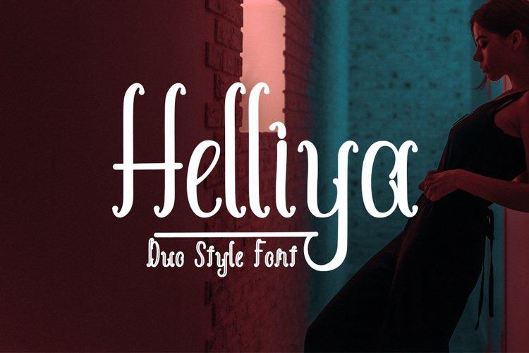 Helliya Font Duo example image 1