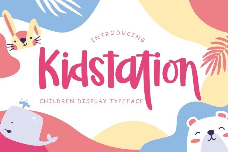 Kidstation Fun Children Display example image 1