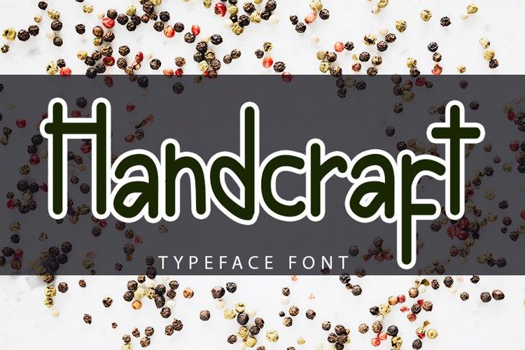 Handcraft - Modern Handwritten Font example image 1