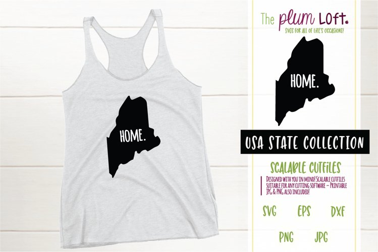 Maine Home - SVG design example image 1