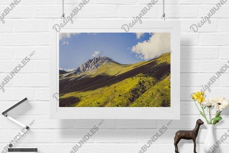 Green Mountains - Wall Art - Digital Print example image 1