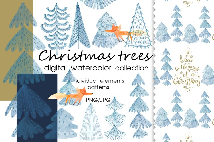 Christmas trees. example image 1