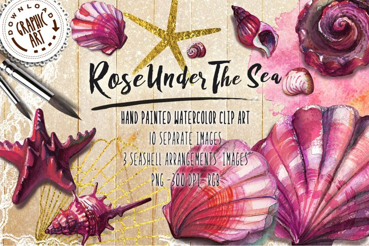 Rose under the sea example image 1
