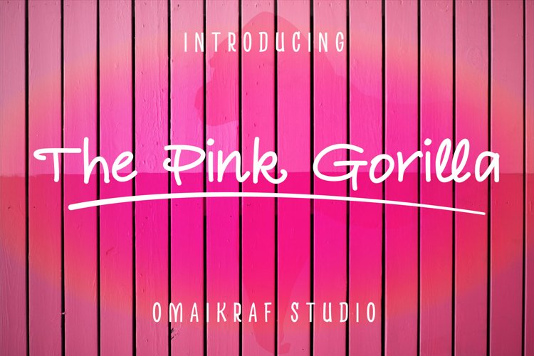 The Pink Gorilla example image 1