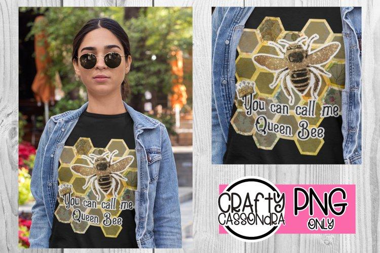 Queen bee file for sublimation prints - honeybee - honeycomb