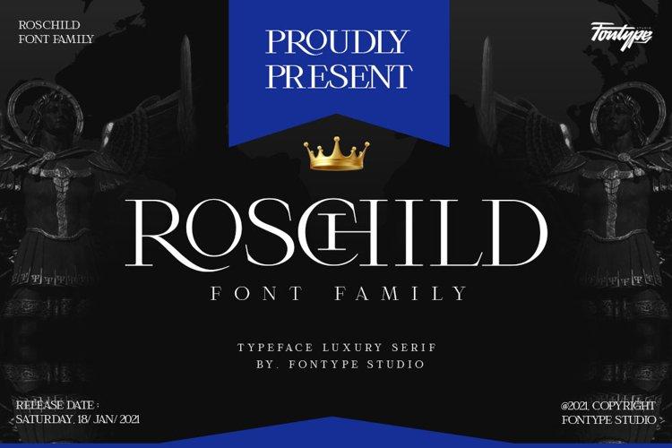 Roschild - Serif Font Family