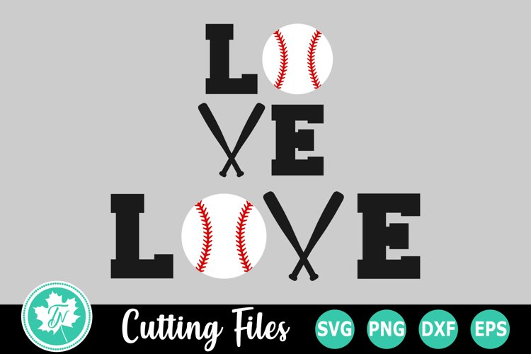 Download Love Baseball A Sports Svg Cut File 262763 Cut Files Design Bundles